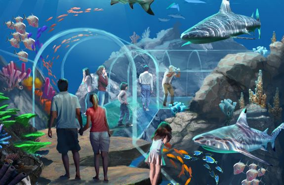 University Of Southern Mississippi >> Mississippi Aquarium - Eley Guild Hardy Architects